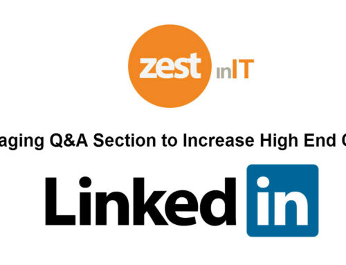 How To Leverage Q&A Section of LinkedIn To Increase Your High End Clients